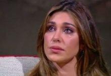 Belen Rodriguez triste