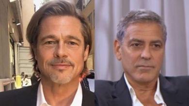 Brad Pitt George Clooney scherzo