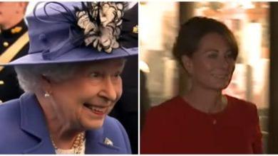 Regina Elisabetta e Carole Middleton