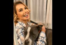 Barbara D'Urso e Olga, il suo cane