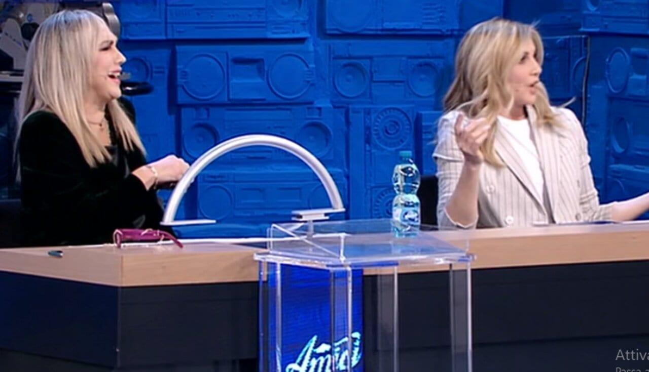 Alessandra Celentano e Lorella Cuccarini