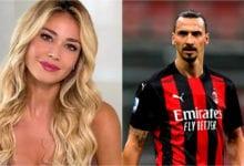 Diletta Leotta Zlatan Ibrahimovic
