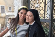 Francesca Chillemi ed Elena Sofia Ricci in Che Dio ci aiuti