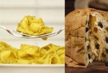 Ricetta tagliatelle panettone fontina tartufo