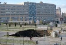Voragine ospedale Napoli