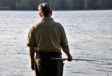 pescatore pesca granate