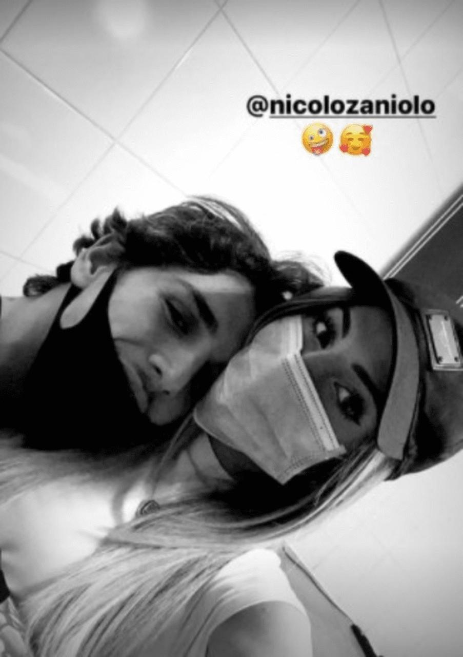 Chiara Nasti Nicolò Zaniolo insieme