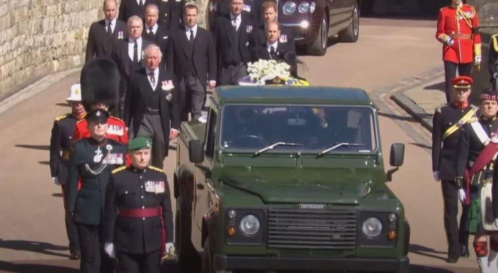 Corteo funerali Filippo