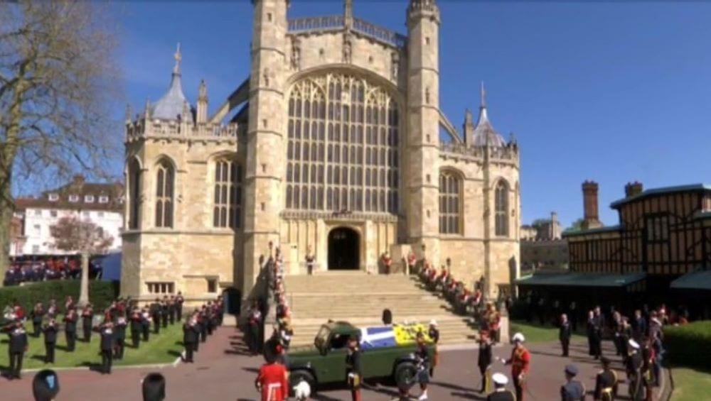 Funerali Principe Filippo Windsor 17 aprile 2021
