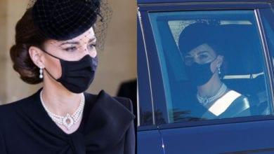 Kate Middleton funerale Filippo