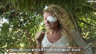LIsola dei Famosi Angela Melillo incidente