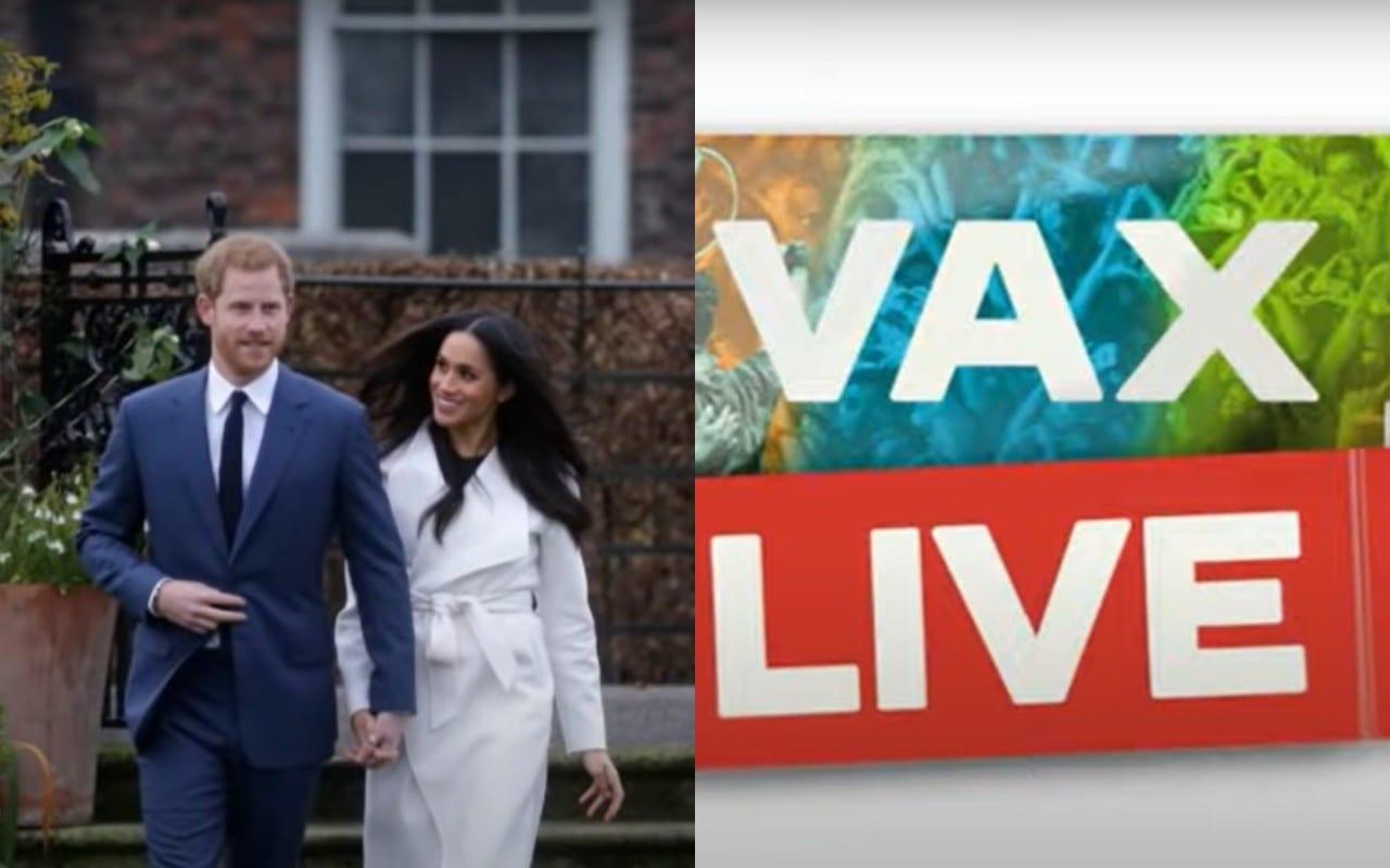 Meghan e Harry Vax Live