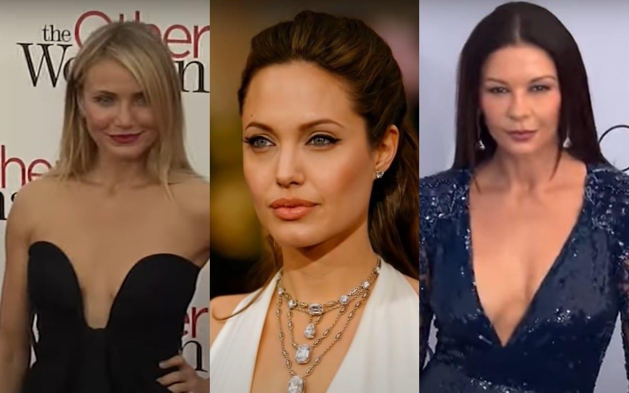 Angelina Jolie Cameron Diaz Catherine Zeta Jones