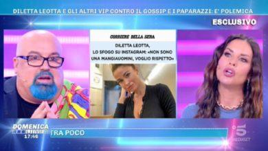 Domenica Live Diletta Leotta critiche