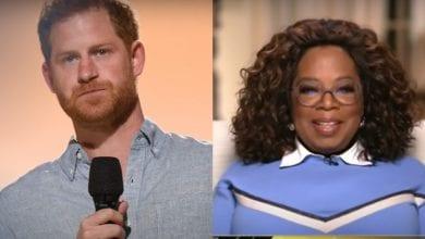 Harry e Oprah Winfrey