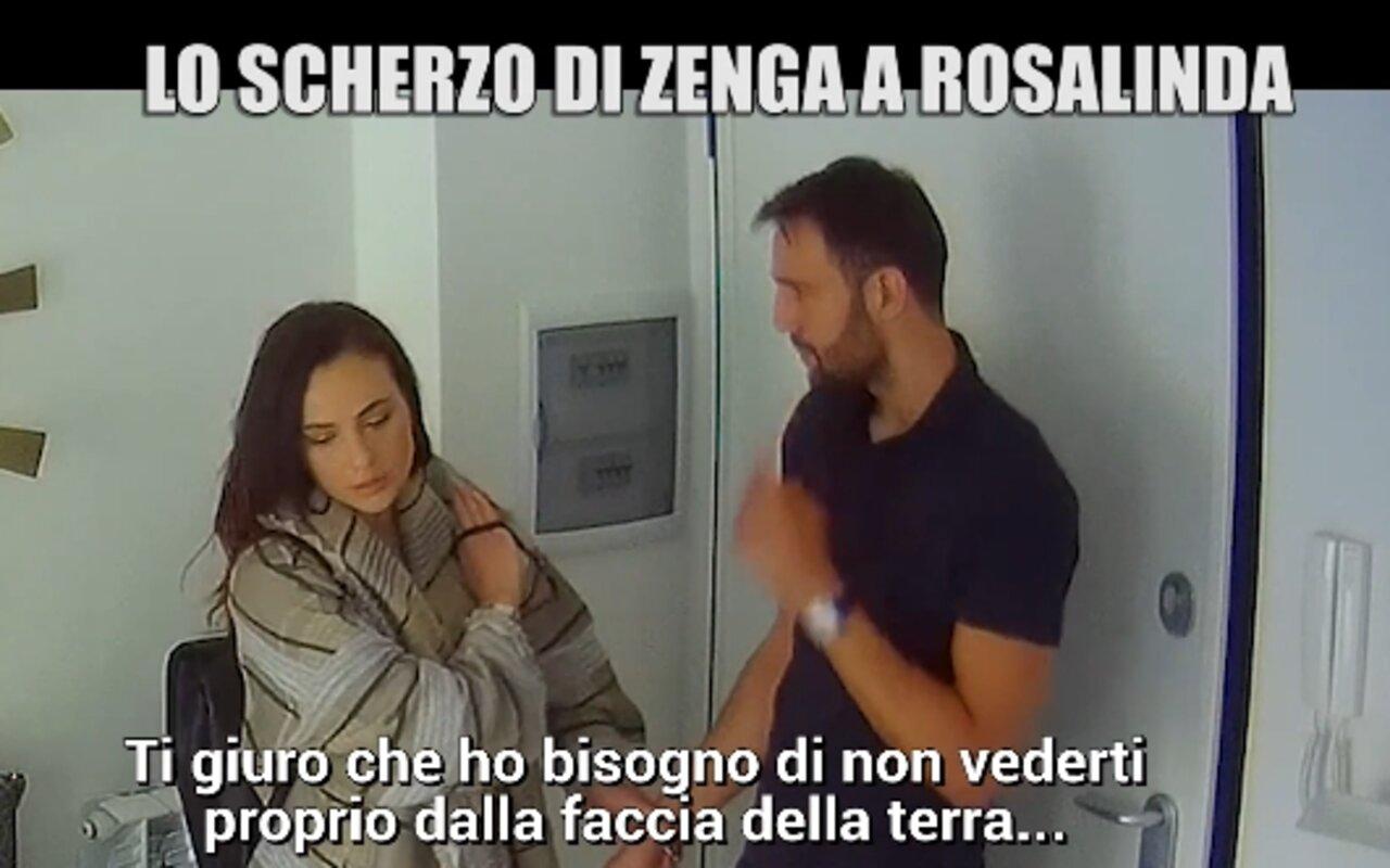 Rosalinda Andrea Zenga Iene scherzo