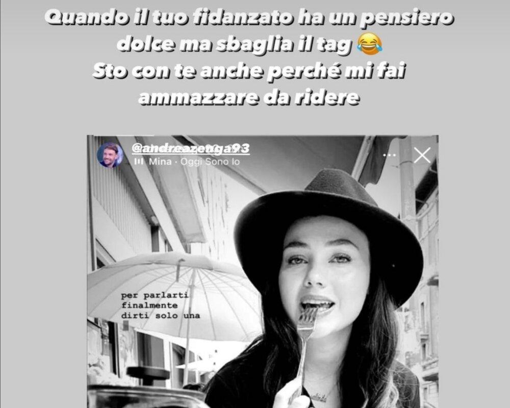 Andrea Zenga Rosalinda Cannavo gaffe
