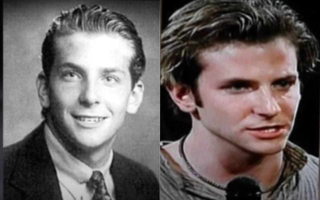 Bradley Cooper da giovane