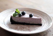 Cheesecake mirtilli