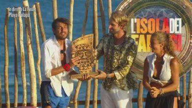 Isola dei Famosi vincitore