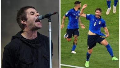 Liam Gallagher Euro 2020