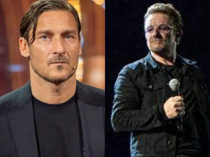 Totti e Bono