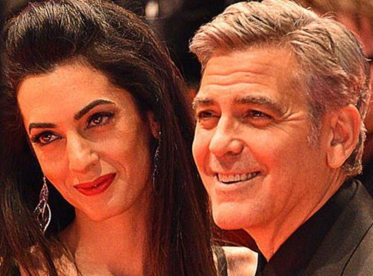 George Clooney Amal terzo figlio