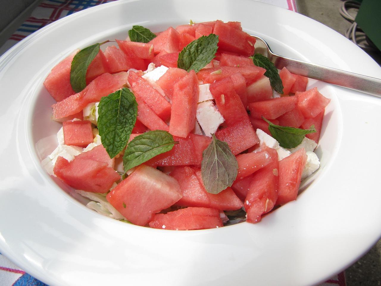 insalata di anguria salata