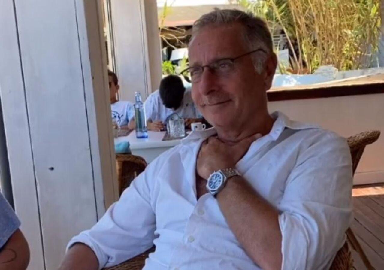 Paolo Bonolis vacanza
