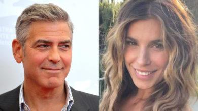 Elisabetta Canalis George Clooney