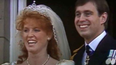 Principe Andrea Sarah Ferguson matrimonio
